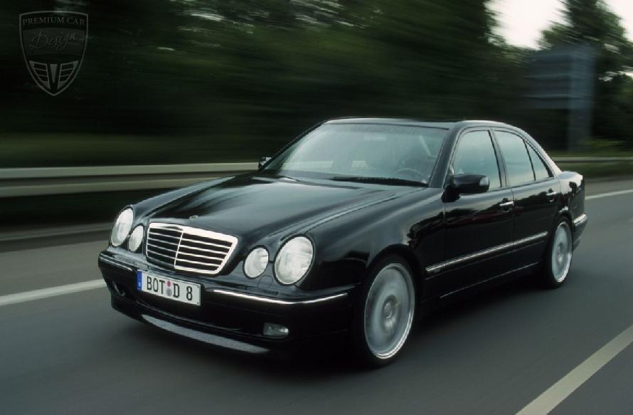 mercedes benz e w210 limousine s210 t modell brabus. Black Bedroom Furniture Sets. Home Design Ideas