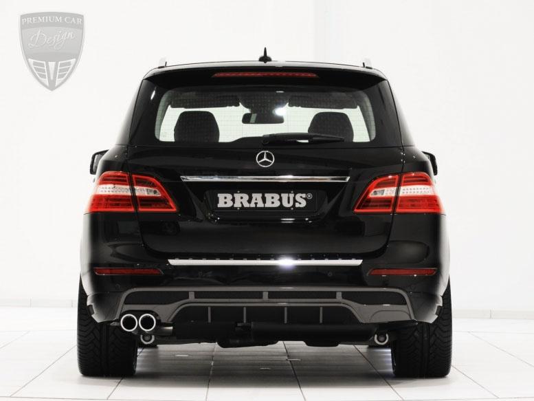 mercedes benz ml w166 offroader brabus tuning premium. Black Bedroom Furniture Sets. Home Design Ideas