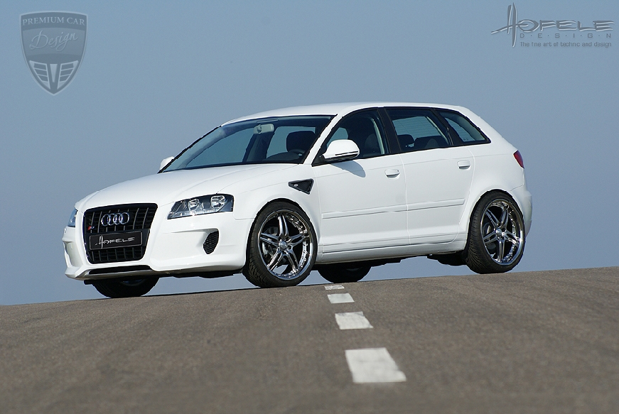 audi a3 a3 8pa sportback 2005 hofele tuning premium. Black Bedroom Furniture Sets. Home Design Ideas