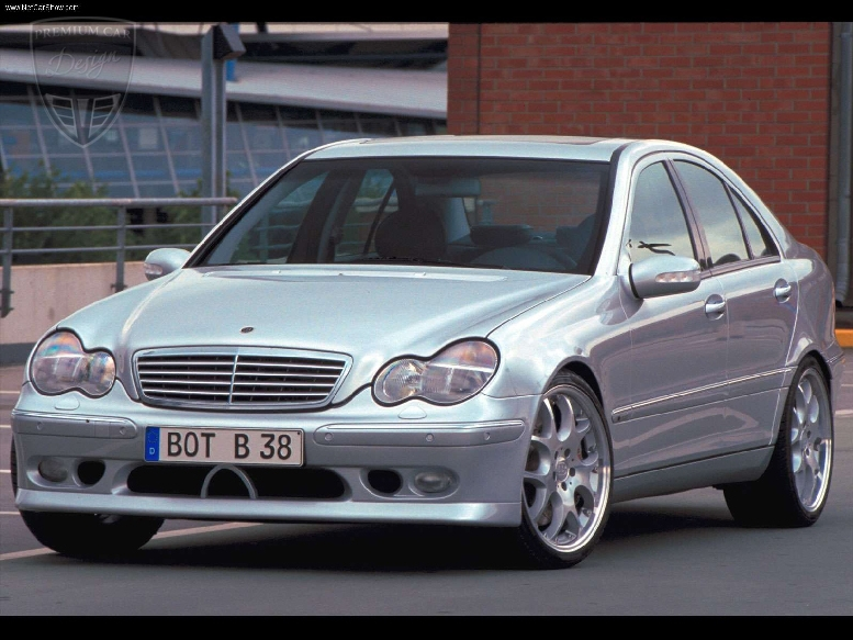 Mercedes benz w203 limousine s203 t modell brabus tuning for 2004 mercedes benz c class
