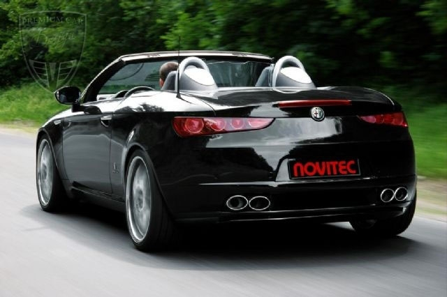 alfa romeo brera spider novitec tuning gal ria novitec magyarorsz g. Black Bedroom Furniture Sets. Home Design Ideas